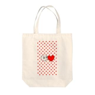 shirotaro-はーと- Tote bags