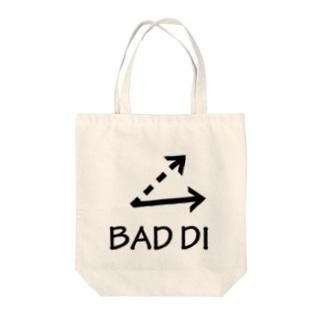 BAD DI Tote bags