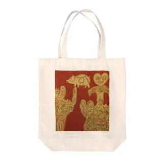 縄文土器 Tote bags