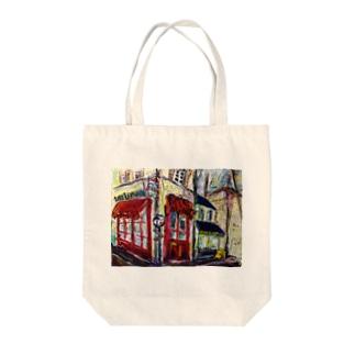 アヴィニオンの街角 Tote bags