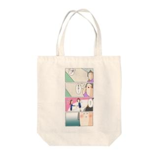 サミィ・チャンのしょうもない4コマ雑貨 Tote bags
