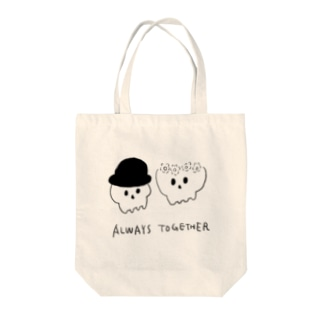 33 STOREのALWAYS TOGETHER Tote bags