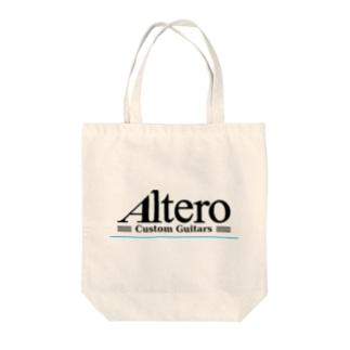 Altero Custom Guitars02(淡色向け) Tote bags