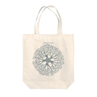 テヅルモヅルlightcolor Tote bags