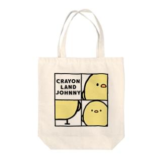 スタイリッシュじょにー Tote bags