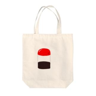 醤油さし Tote bags