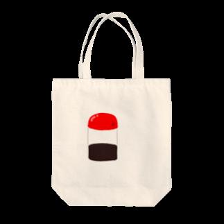ドラネコ商会の醤油さし Tote bags