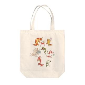 金魚づくし現代版 OMATSURI Tote Bag