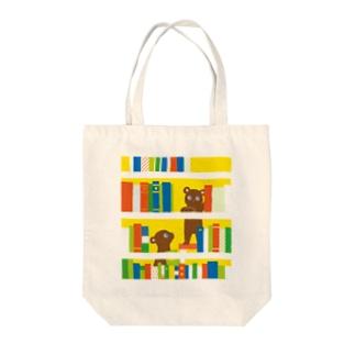 本棚くまさん Tote Bag