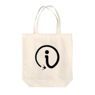 interact i_BLACK Tote bags