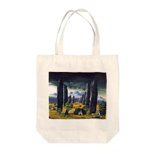 カラニッシュ・石の十字架 Tote bags