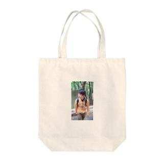 わっちょん Tote bags
