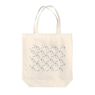 ウツボがいっぱいコレクション Tote bags