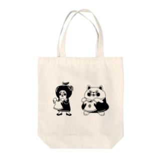 grasoann   ✖️yukosu_furugi  モノトーン  イラストおんりー Tote bags