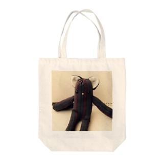 ロシアンブルコ Tote bags