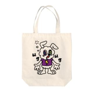 CHEBLOのJUNKIE GREY【White】  Tote Bag