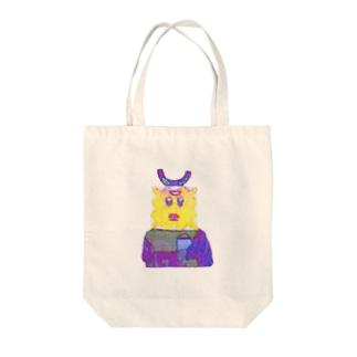 ユトリデラックス Tote bags