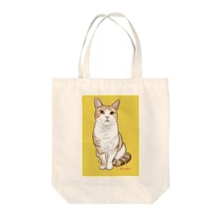 アメショのボワちゃん Tote bags