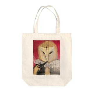 「メンフクロウ公爵」 Tote bags