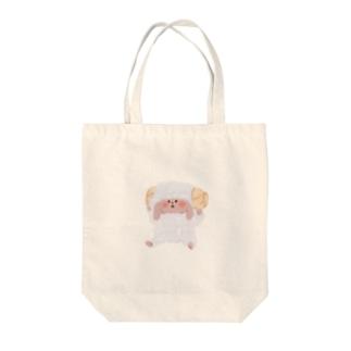 ひつじなミミィトートバッグ 【Cherrymimmy】 Tote bags
