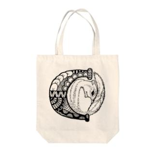 【alphanimal】C: chipmunk Tote Bag