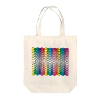 おはじゅきレインボー Tote bags