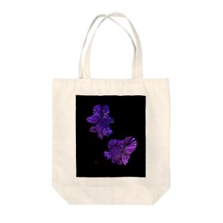 切り絵金魚 蝶尾--幻想-- Tote bags