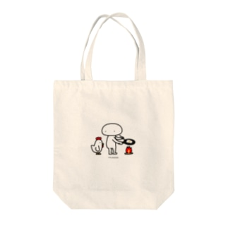 Mr.AWKWARD with Chicken Tote bags