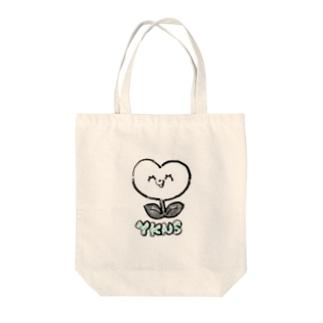 しょくぶつマン(白) Tote bags