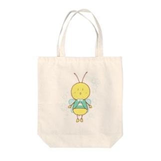 みつばちさん(花) トートバッグ