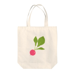 ラディッシュ Tote bags
