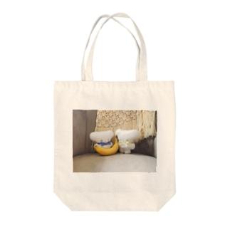 バナナみつけた Tote bags