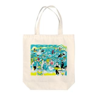 トライアスロン Tote bags