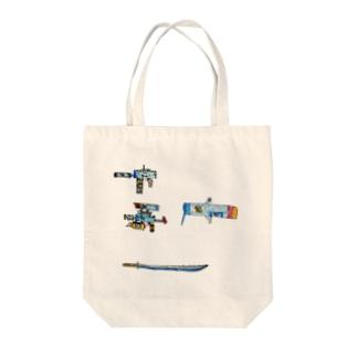 水月 Tote bags