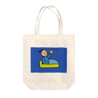 グットないと Tote bags