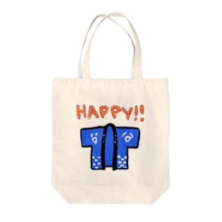 HAPPY!! Tote bags