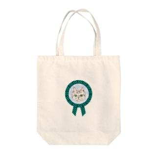 ネコネコロゼット Tote bags
