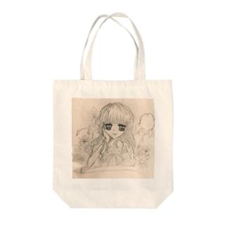 花屋の娘 Tote bags