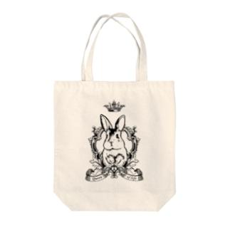 rabbir_queen Tote bags