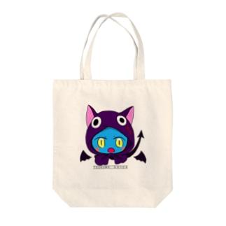 九十九シカ(使い魔コス) 文字付き Tote bags