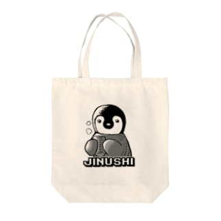 ペンギンJINUSHIモデル Tote bags