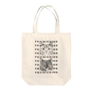 2CATS(FUJIO&ICHIKO) Tote bags