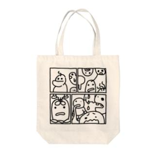とくべつでかわいいかわいいまんがっ! Tote bags