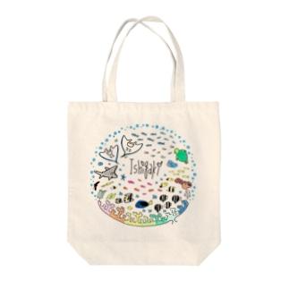 石垣島の海の中 Tote bags