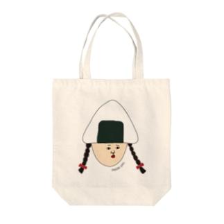 おにぎり ギリ子 Tote bags