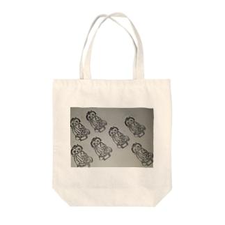 弁天小僧菊之助がいっぱいトート Tote bags