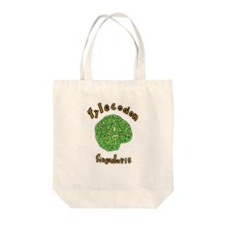 チレコドン・シングラリスTシャツ Tote bags