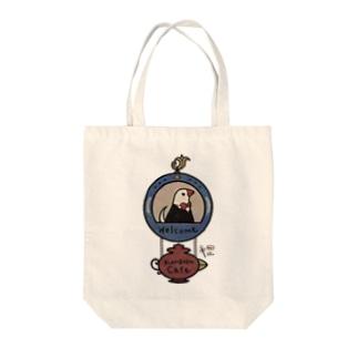 くちばしカフェ Tote bags