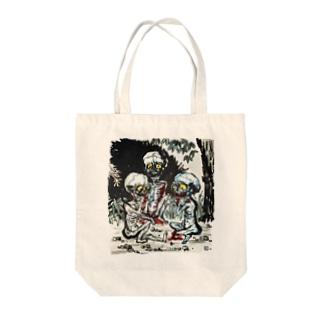 餓鬼 Tote bags