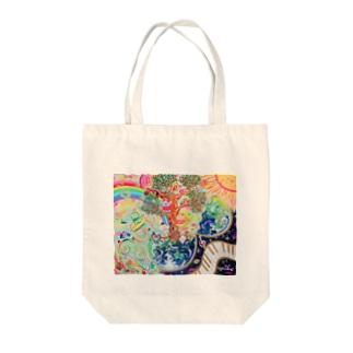 地球のたねたまご Tote bags